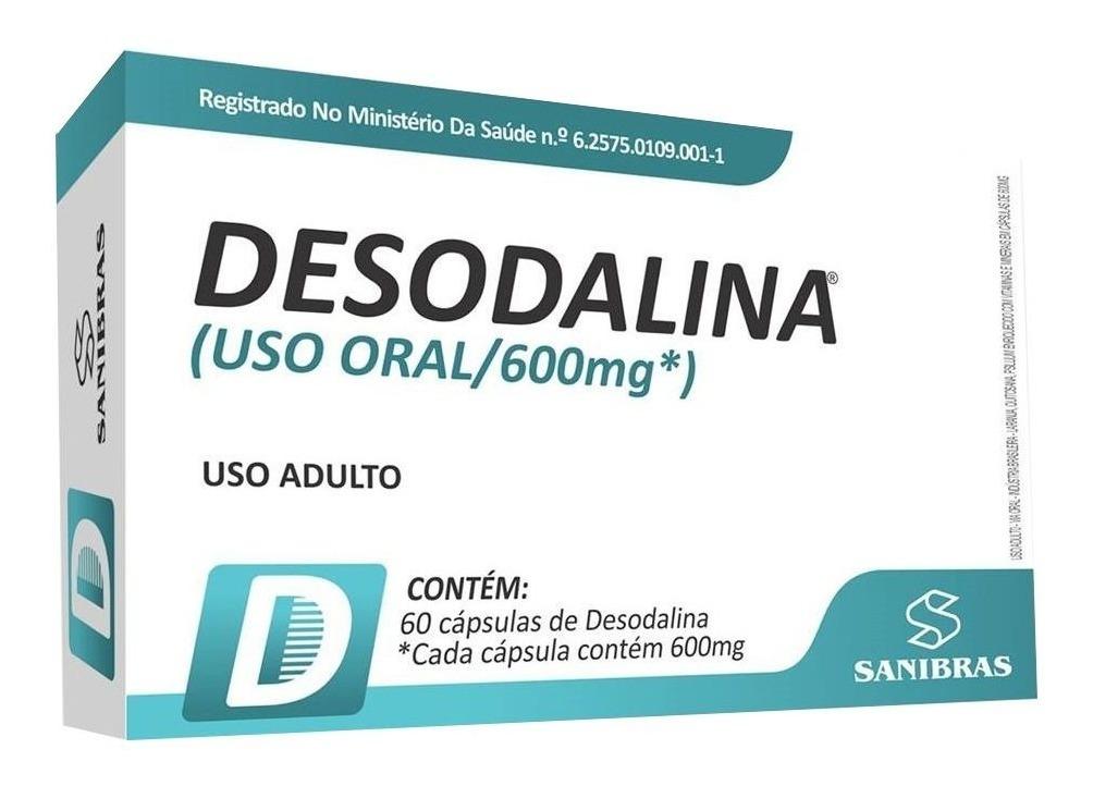 DESODALINA 60 CAPS 600MG - POWER SUPPLEMENTS