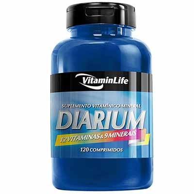 Diarium - Multivitamínico - 120 Comprimidos - VitaminLife