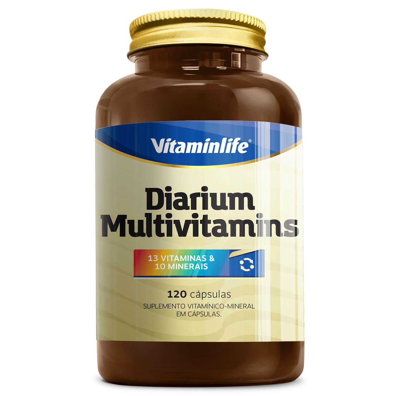 Diarium - Multivitamínico - 120 Comprimidos - Vitamin Life