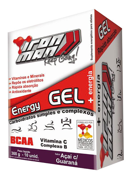 Iron Man Energy Gel (Sachê 30g) - New Millen