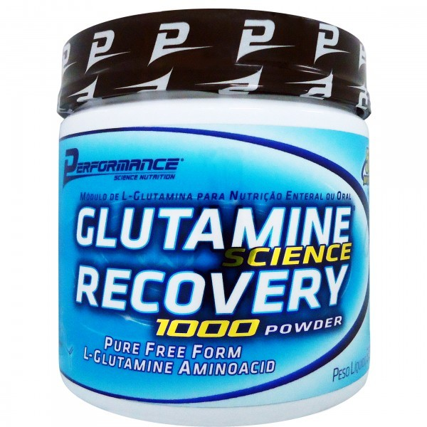 Glutamine Science Recovery 1000 300g - Performance Nutrition  - TOP Suplementos