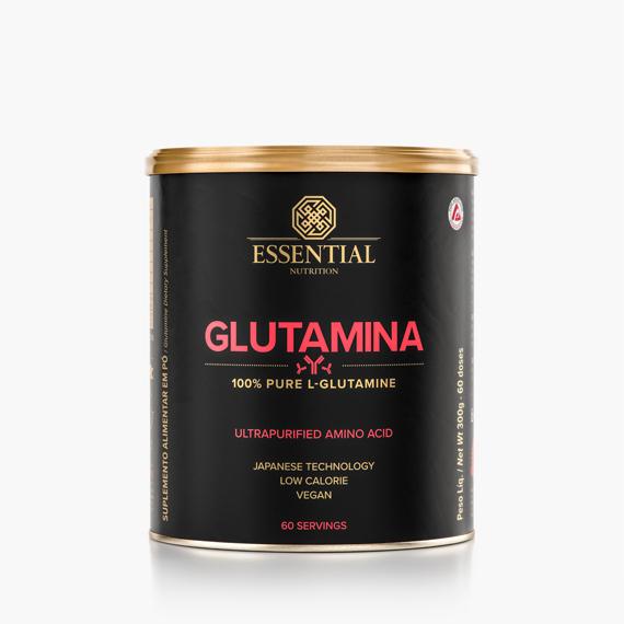 Glutamina 300g L-Glutamina 100% Pura - Essential