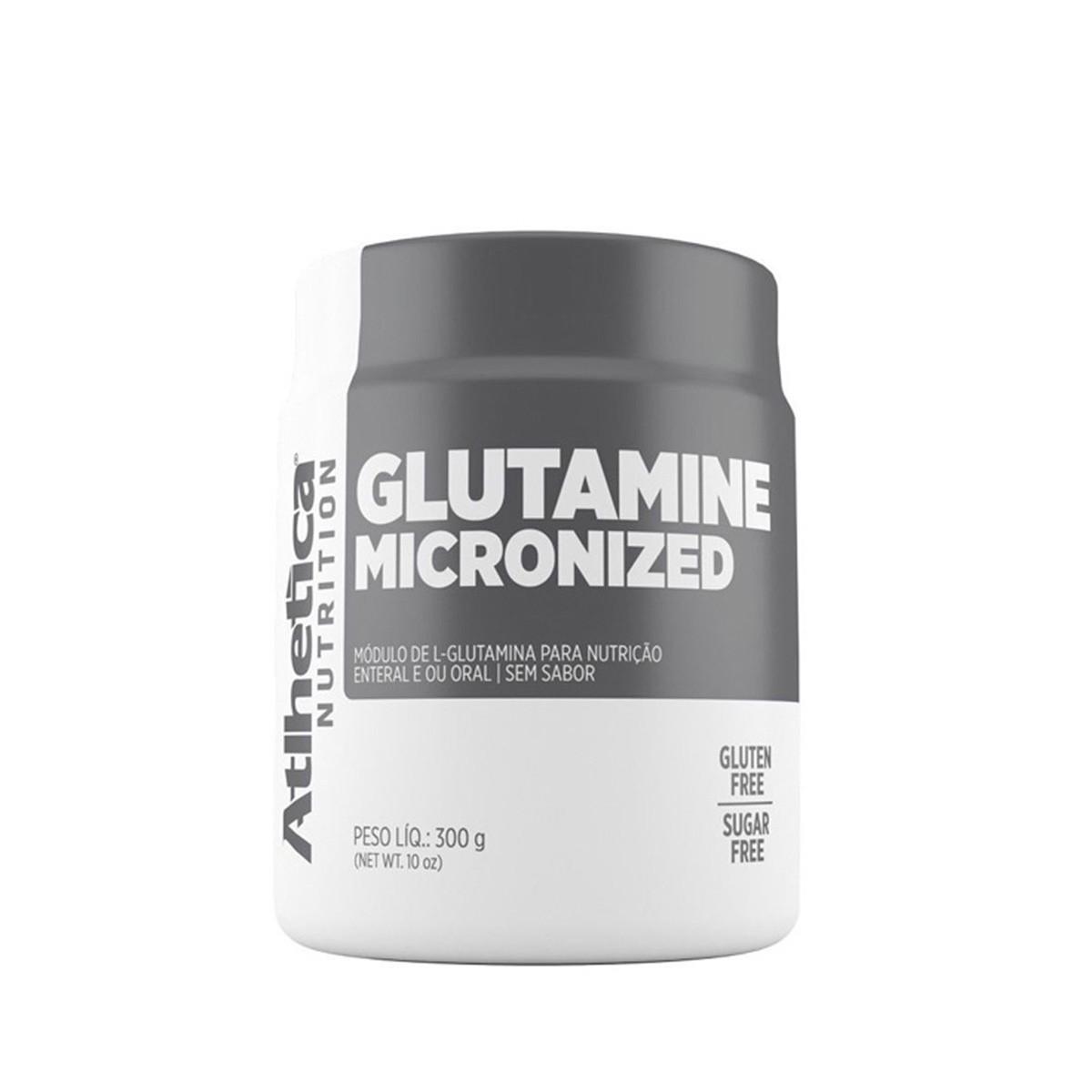 Glutamine Micronized 300g - Atlhetica Evolution Series