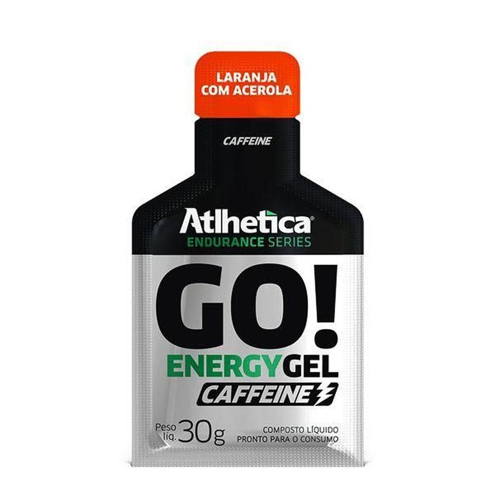 GO ENERGY GEL CAFFEINE - 1 SACHE 30g - ATLHETICA