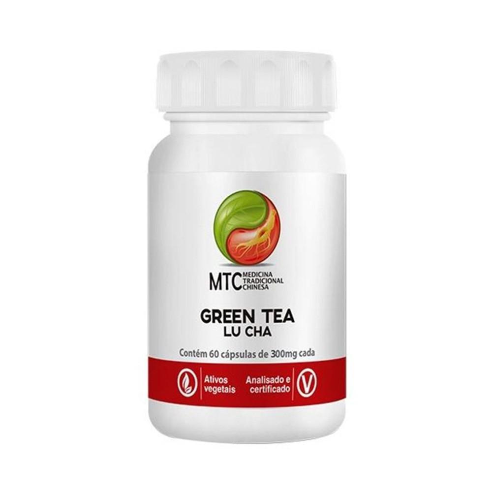 GREEN TEA - LU CHA 60 Capsulas - Vitafor