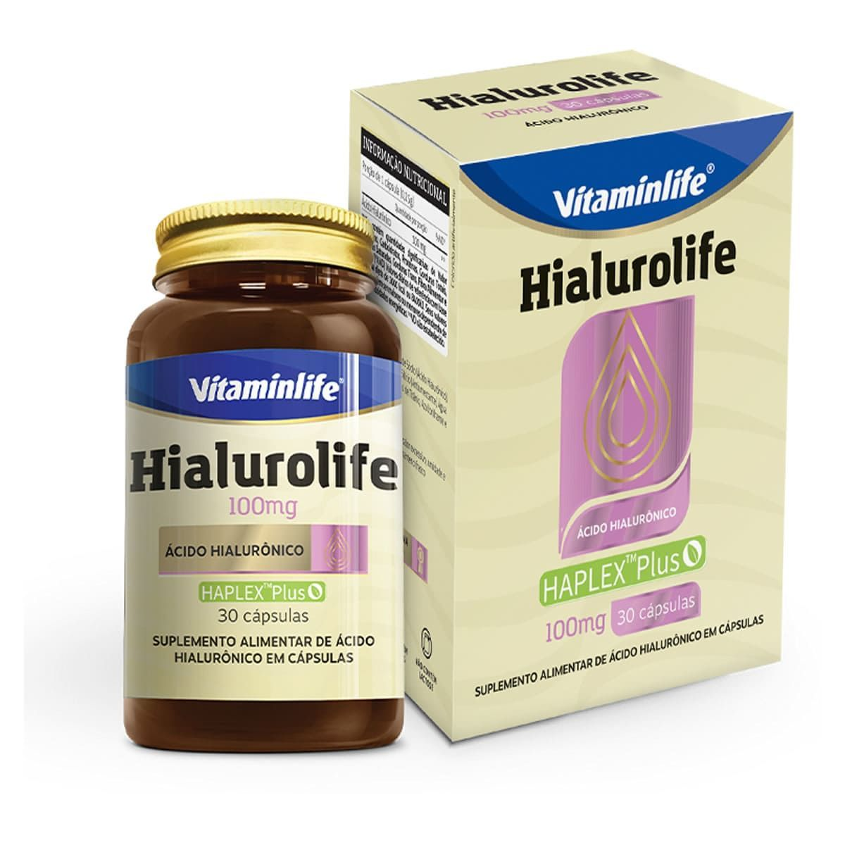 HIALUROLIFE 100mg 30 CAPS - VITAMIN LIFE
