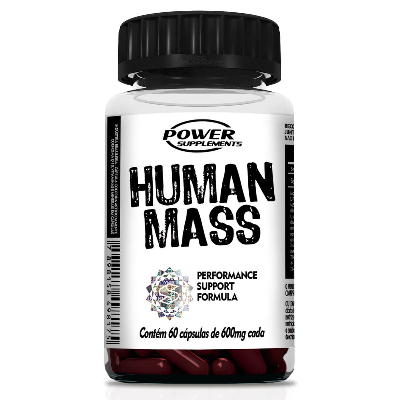 HUMAN MASS 60 CAPS 600MG - POWER SUPPLEMENTS