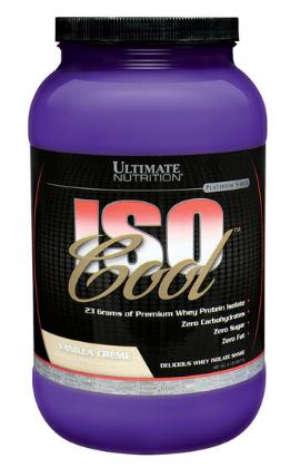 IsoCool 907g Whey Isolado 2lb - Ultimate Nutrition