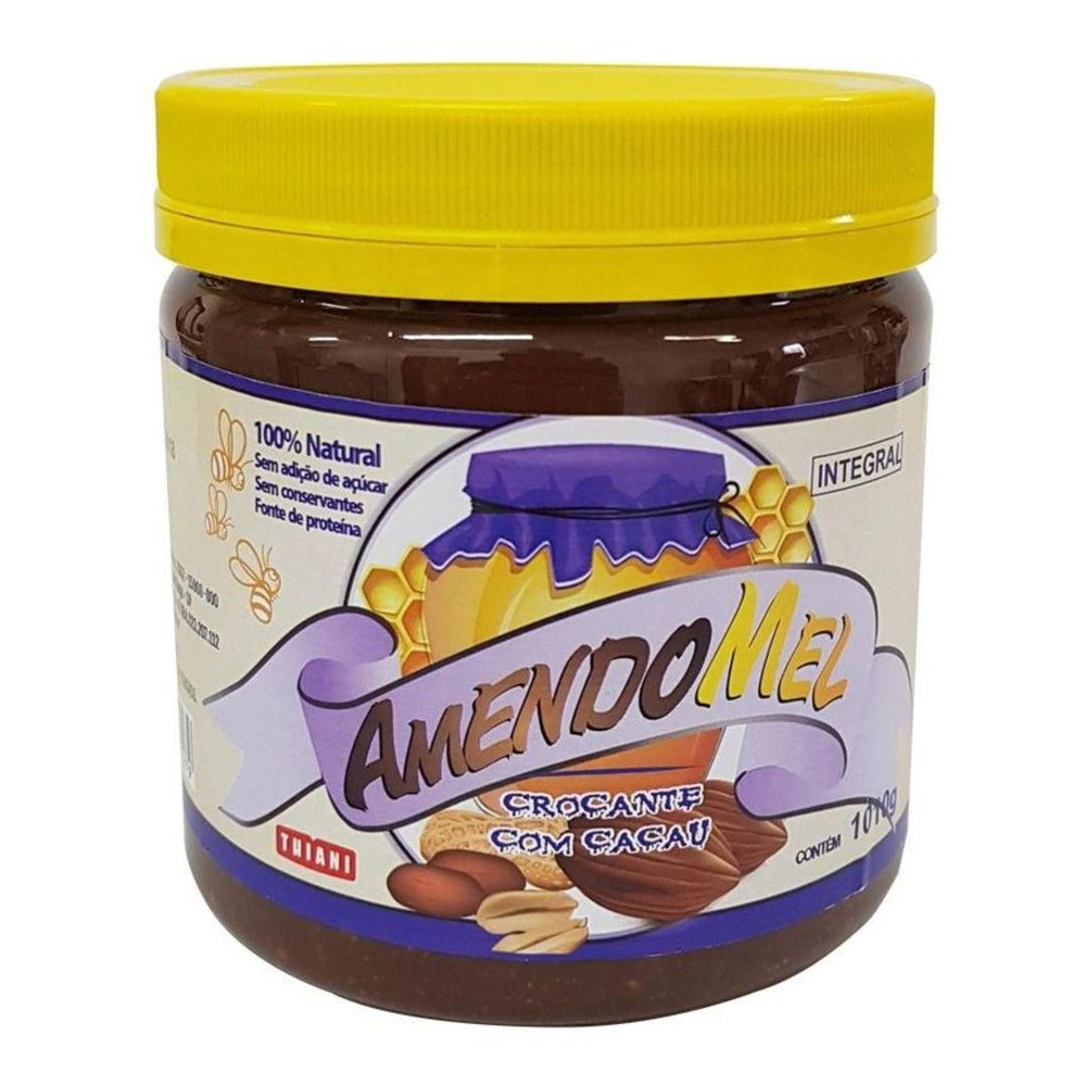 Kit 5un Pasta de Amendoin - Amendomel 1,010kg