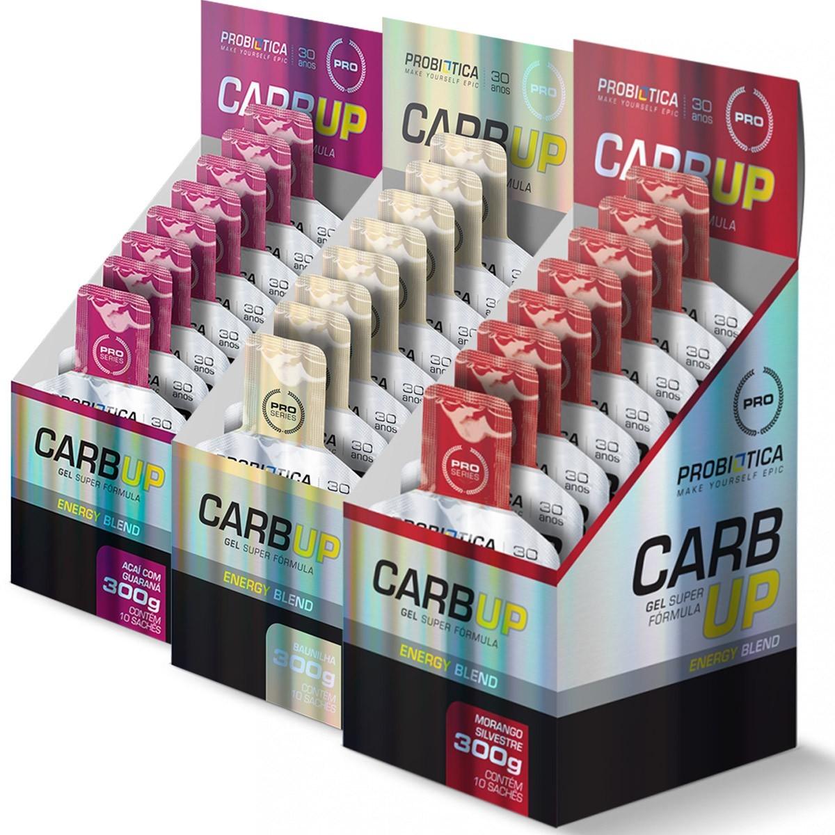 Kit 5x Carb-UP Super Formula - Probiótica