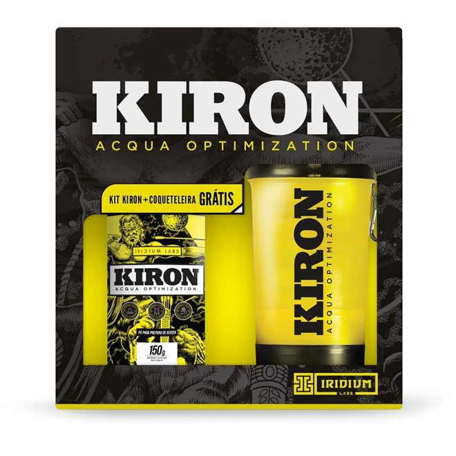 Kit Kiron 150g + Coqueteleira Iridium 500ml - Iridium Labs
