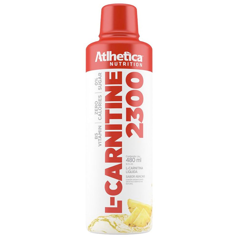 L-CARNITINE 2300 + CHROMIUM - 480ML - ATLHETICA NUTRITION