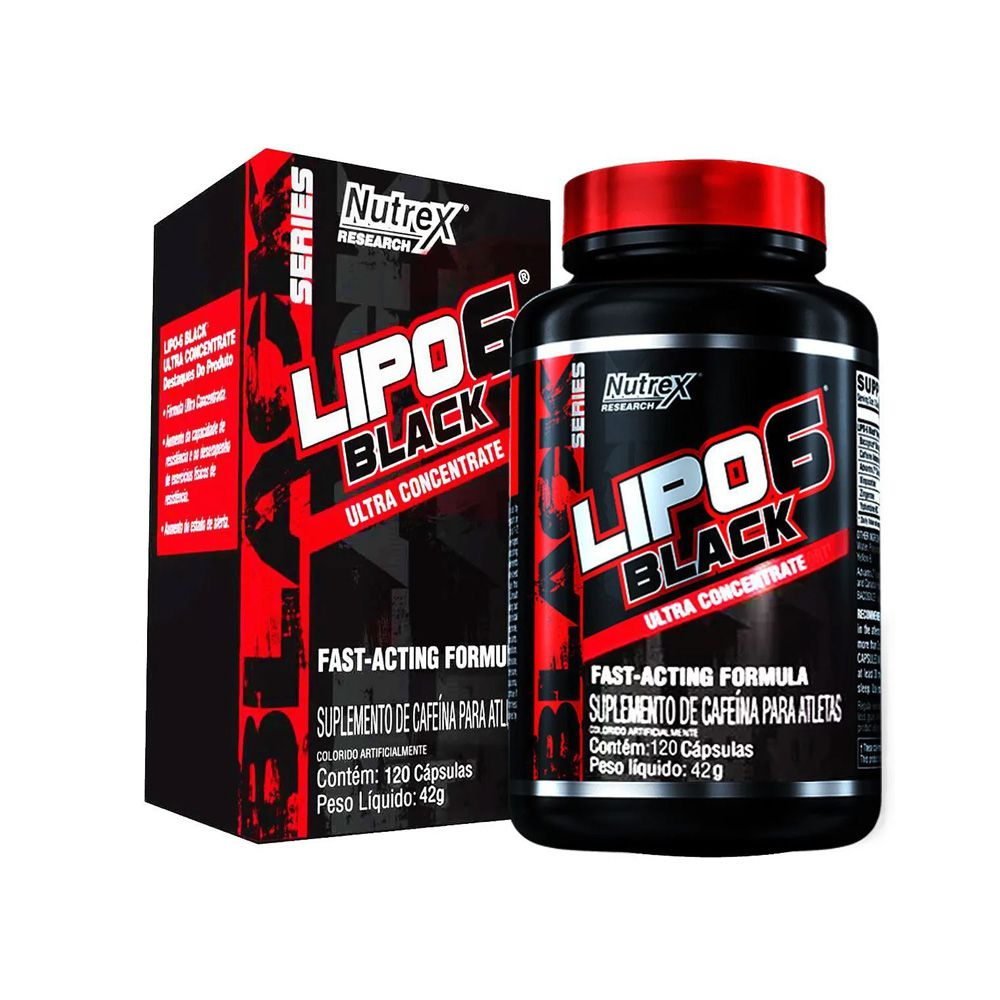 LIPO 6 BLACK ULTRA 120 CAPS - NUTREX