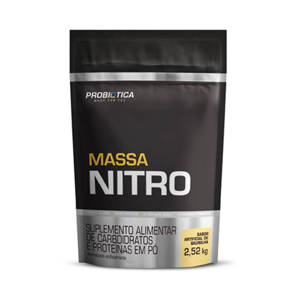 MASSA NITRO 2,52 KG PROBIÓTICA