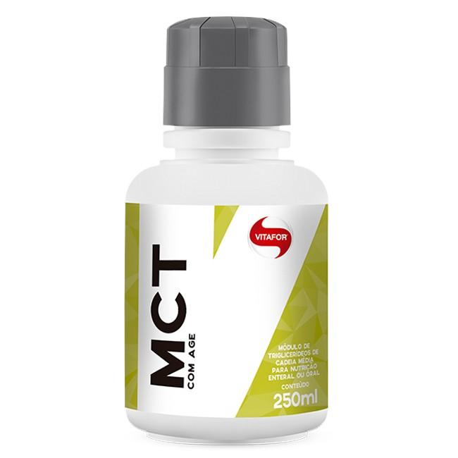 Garrafa Mct 250ml Triglicerídeos De Cadeia Média - Vitafor