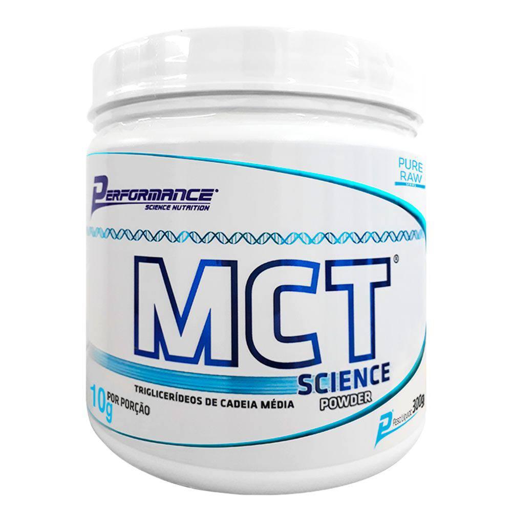 Mct Science Powder 300g Óleo Vegetal Em Pó - Performance