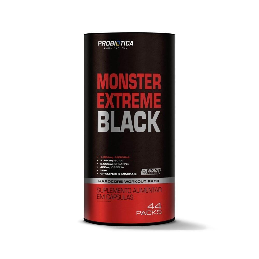 Monster Extreme Black 44und Pack Suplementar - Probiótica