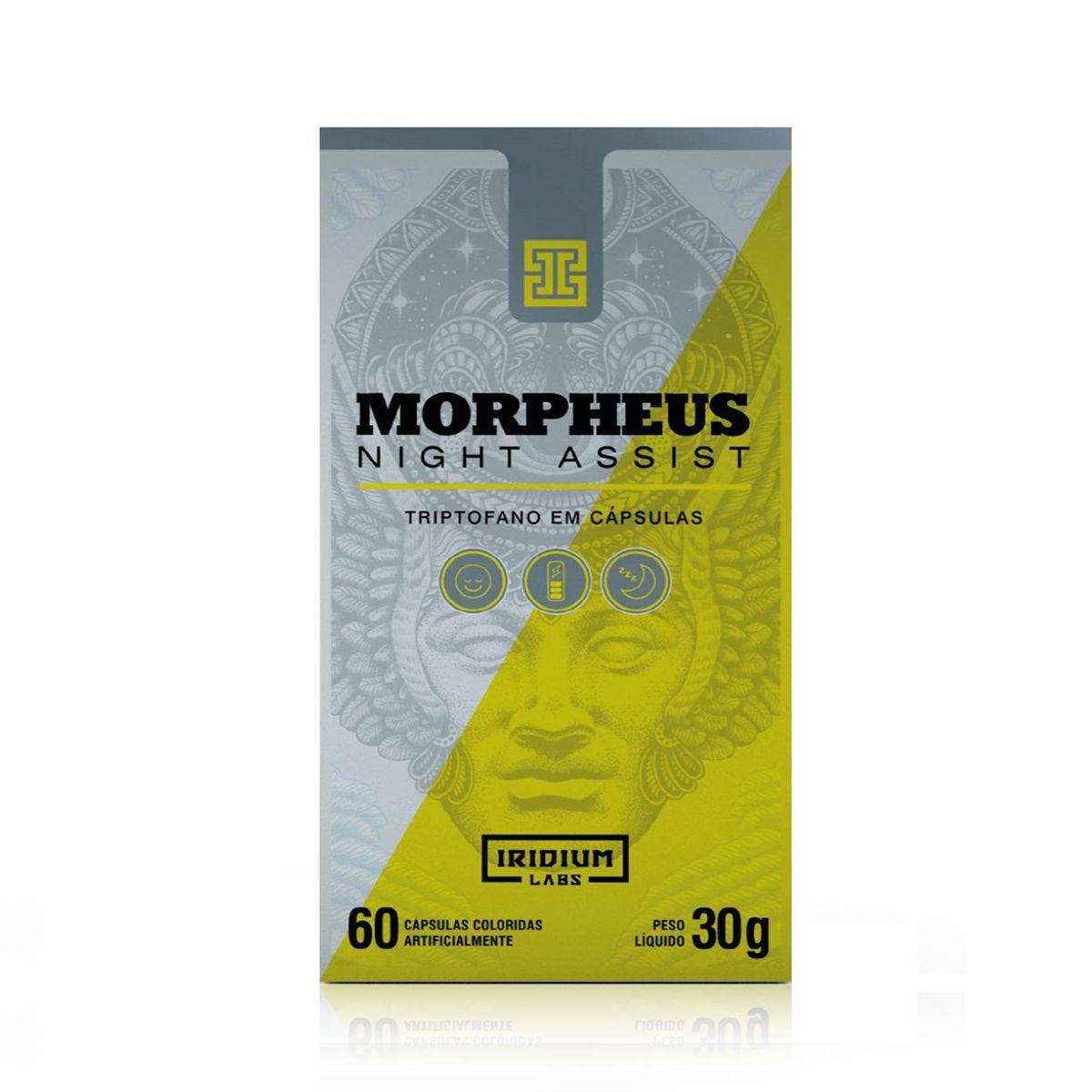 Morpheus Night Assist 60 Cápsulas 30g - Iridium Labs