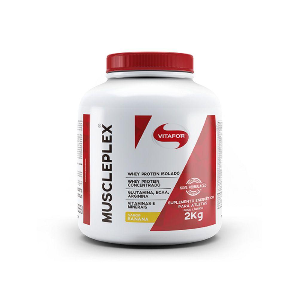 Muscleplex 2kg Whey Protein Isolado - Vitafor