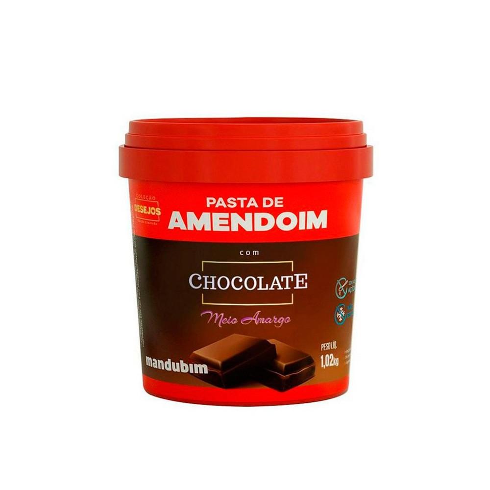 PASTA DE AMENDOIM 1010g MANDUBIM