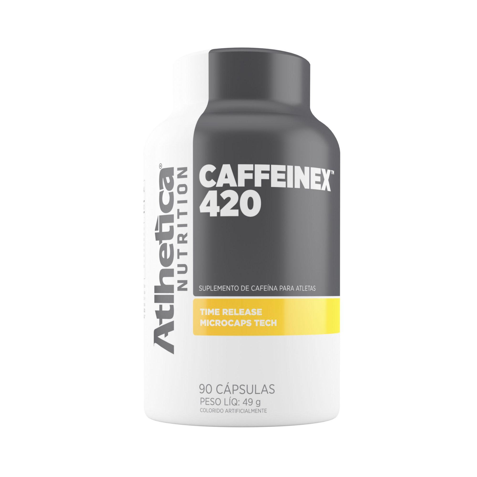 CAFFEINEX 420MG 90 CAPS ATLHETICA