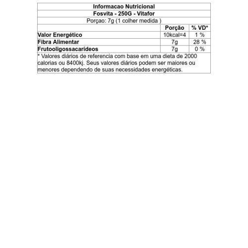 Fosvita 250g Fibras Alimentares - Vitafor