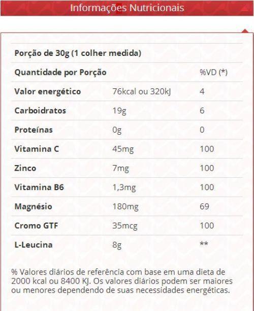 Leucix 360g L-leucina - Vitafor
