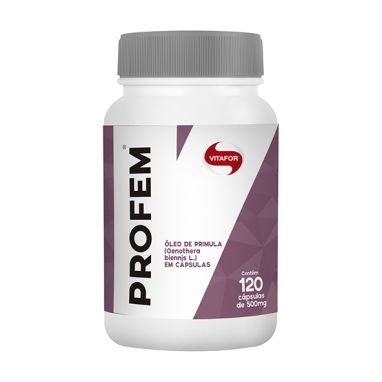 Profem 120 Cápsulas Óleo De Prímula - Vitafor