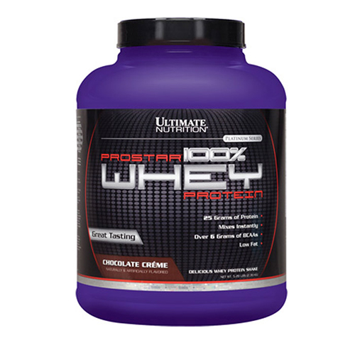 Prostar 100% Whey Protein 5lbs - Ultimate Nutrition