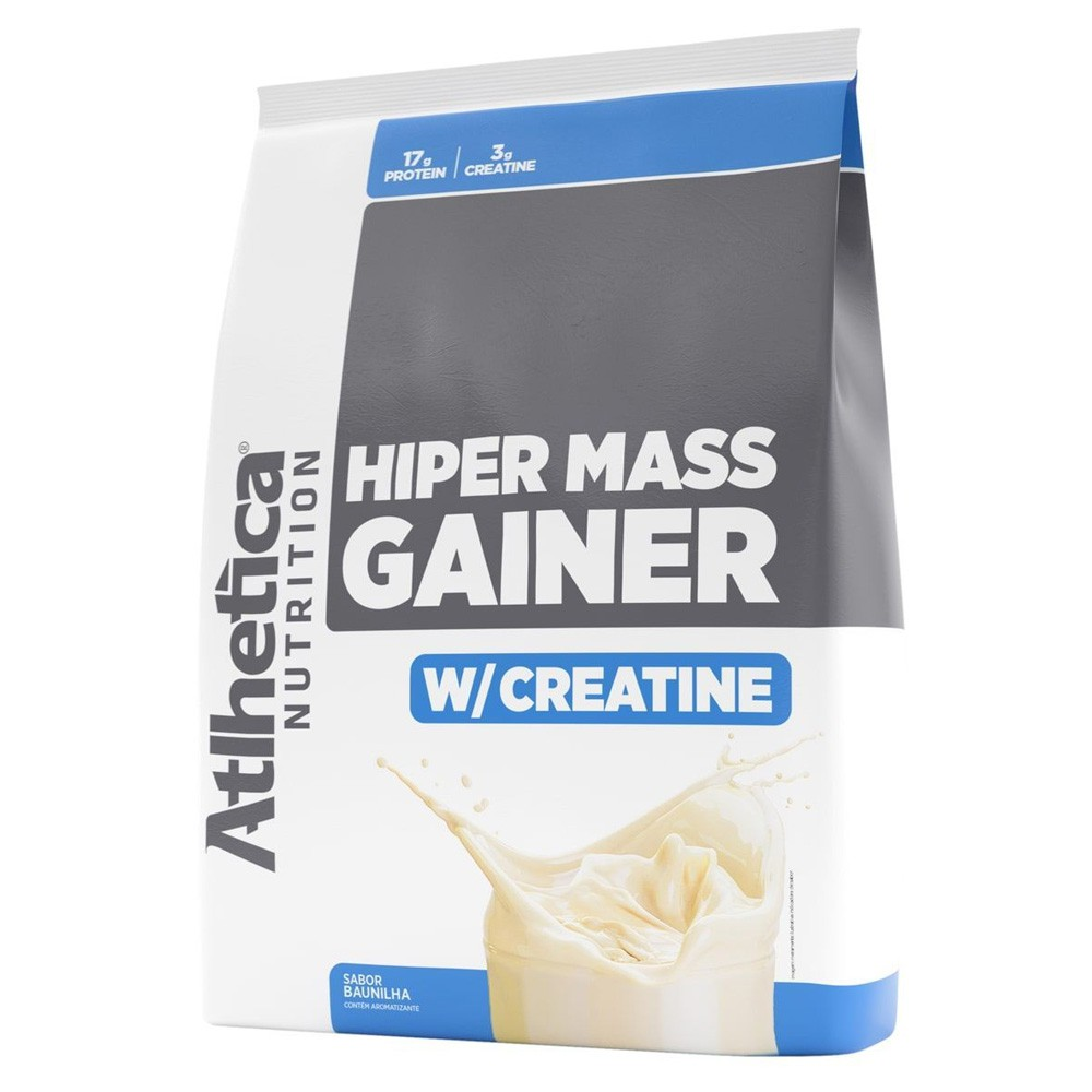 Saco Hiper Mass Gainer 3kg Hipercalórico Whey 3w - Atlhetica