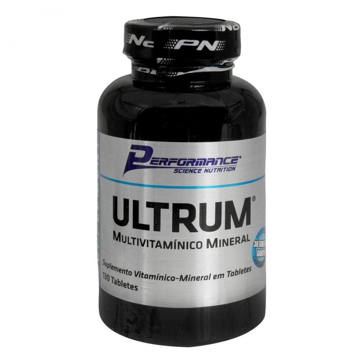 Ultrum Multivitamínico - 100 Tabletes - Performance Nutrition