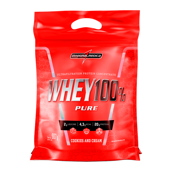 WHEY 100% PURE COOKIES INTEGRAL MÉDICA 907G