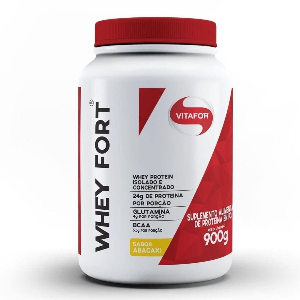 Whey Fort 900g Isolado E Concentrado - Vitafor