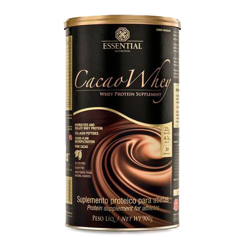 WHEY PROTEIN SUPPLEMENT 900G ESSENTIAL CACAO