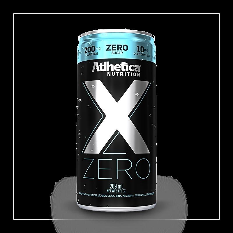 X ZERO - LATA 269 ML - ATLHETICA