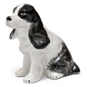 CACHORRO COCKER DE PORCELANA