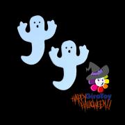 Aplique Halloween e.v.a Pequeno