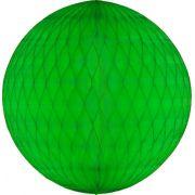 Balão GLOBO Bola de Papel de seda Cor Verde Claro GiroToy Enfeites