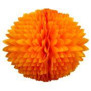 BOLA POM POM Laranja Pompom de papel seda colmeia GiroToy Enfeites fazemos cores personalizadas