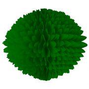BOLA POM POM Verde Bandeira Pompom de papel seda colmeia GiroToy Enfeites fazemos cores personalizadas