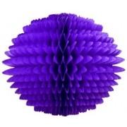 BOLA POM POM Roxo Pompom de papel seda colmeia GiroToy Enfeites fazemos cores personalizadas