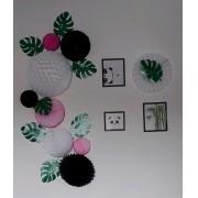 decoração panda kit festa decoração