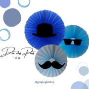 Dia dos Pais girotoy personalizado fiorata painel bigode