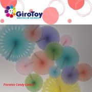 Festa Candy Colors kit decoração