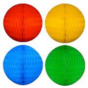 Balão GLOBO Bola de Papel de seda Cor A DEFINIR - apos a compra