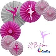 painel bailarina decoração infantil bailarina rosa festa
