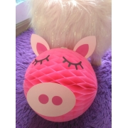 porquinha globo personalizado rosa pig