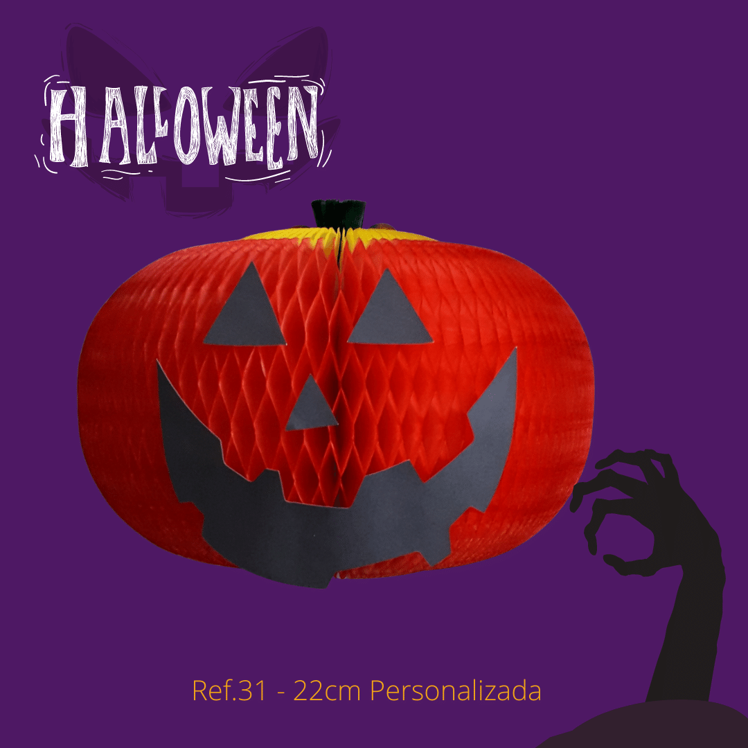 Abóbora festa dia das bruxas hallowen girotoy