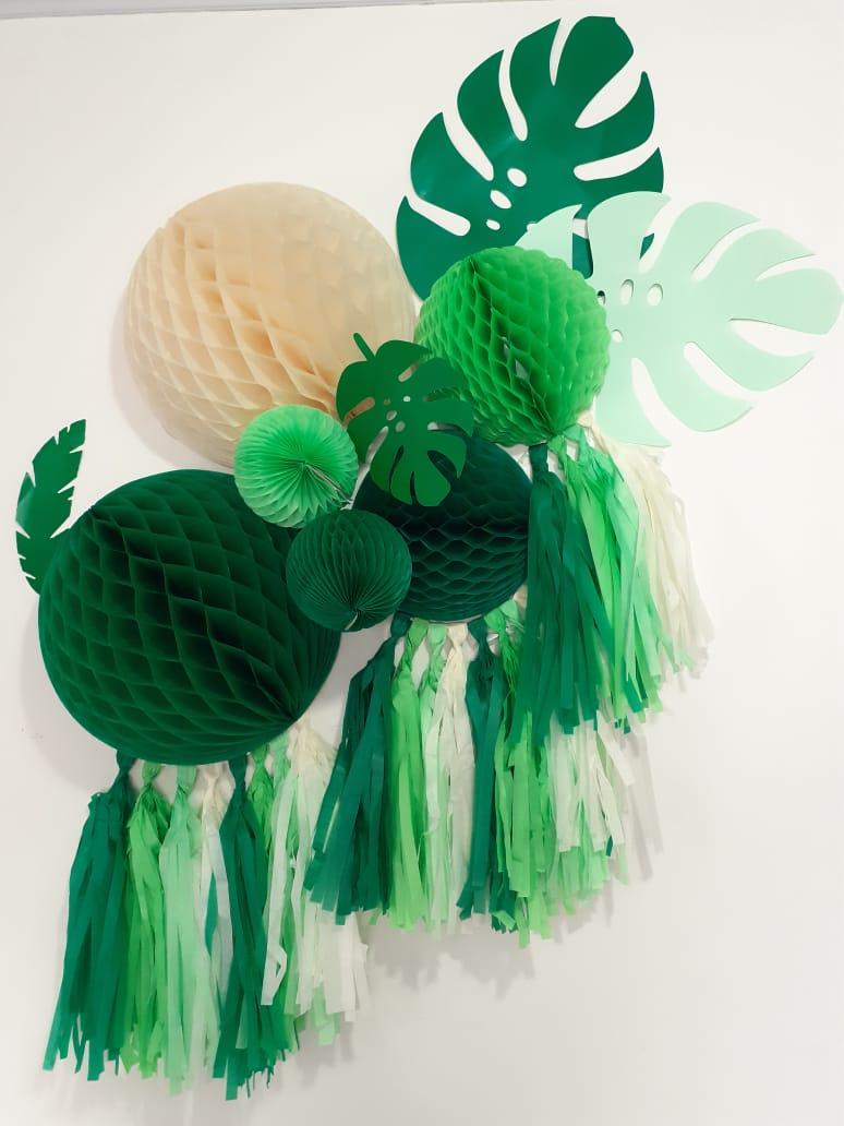 Balão festa decorativa decoração bolas de papel painel kit festa decor