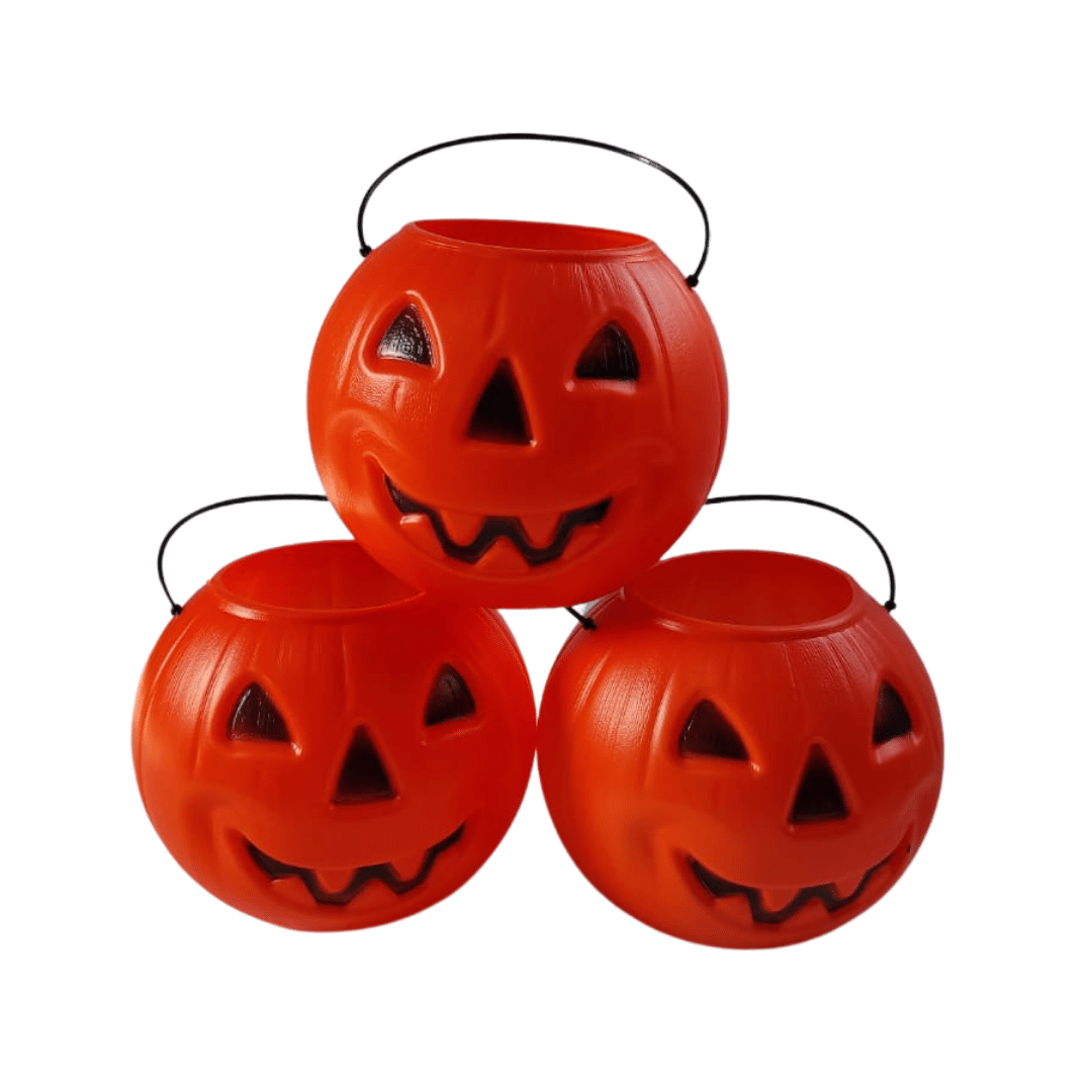 balde abobora caveira halloween festa dia das bruxas